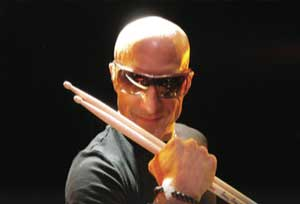 Kenny Aronoff in Indy