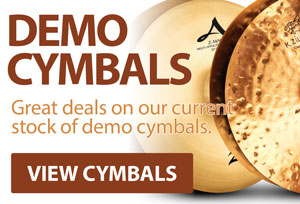 Zildjian demo cymbals from Midwest