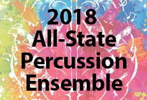 2018 All-State Percussion Ensemble Auditions