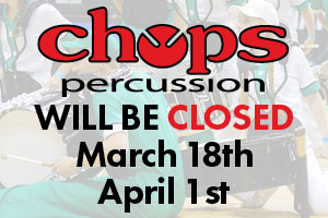 Chops closed on 3/18/17 & 4/1/17