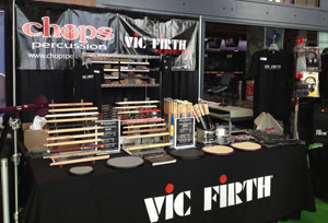 Visit Chops at the Vic FIrth DCI Booth