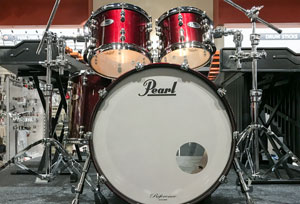 Pearl Reference shell pack in black cherry